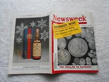 NEWSWEEK  Magazine-DECEMBER 5,1960-KENNEDY NOW--THE DOLLAR IN DANGER?