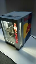 Red Bull Baby Cooler Led Mini Fridge Table Top Eco Cooler Very Rare Works Great!
