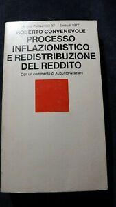 Convenevole: Processo inflazionistico e redistribuzione del redditoEinaudi, 1977