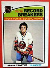 1976-77 O-Pee-Chee #67 BRYAN TROTTIER Rookie Record OPC Hockey NM-MT