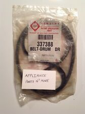 NEW WHIRLPOOL DRYER DRUM BELT 337388 ASK FOR DEAL BUY ALL