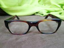Vintage France Frames M-S Ms frame glasses eyeglasses Amber
