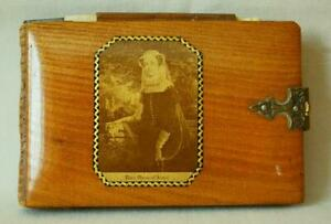 Mauchline Photograph Ware Aide Memoire or Pivotal Pocket Diary Mary Queen Scots