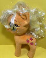 "My Little Pony 13"" Applejack Plush Stuffed Animal Toy Hasbo 2014 Horse"