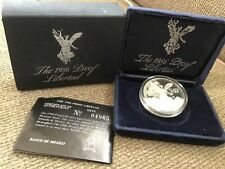 1986 1 oz uncirculated proof libertad silver coin from Bank of Mexico #04965