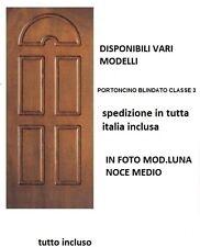 PORTONCINO PORTONE  BLINDATO CLASSE 3 CON RISCONTRO ELETTRICO E AIR STOP SERIE