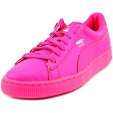 Scarpe sneakers in pelle rosa per bambini dai 2 ai 16 anni
