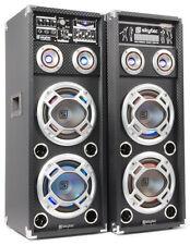 Skytec KA-26 Aktiv Karaoke PA Lautsprecher Set