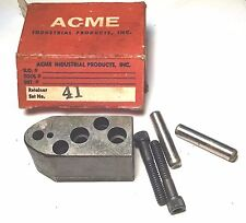 14 Aip Ball Bearing Lock Punch Hydraulic Press Tooling Retainer Tool Holder 41