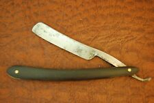 VINTAGE STRAIGHT RAZOR KNIFE 1918-1959 WADE & BUTCHER HORN SHEFFIELD ENG (3622)