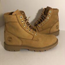 Men's Timberland Basic Boots Nubuck Waterproof Size 7.5 TB019079