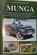 German Army Munga Jeep Tankograd Reference Book