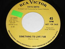 Kate Smith: Something To Live For / Masquerade 45