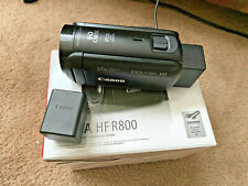 Canon VIXIA HF R800 Video Camcorder w/extra Canon Battery, 32gb SD, Used Once