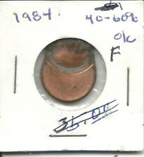 1984  US LINCOLN CENT ERROR PENNY