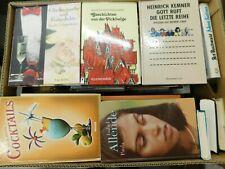42 Bücher Hardcover Romane Sachbücher verschiedene Themen  Paket 5