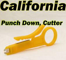 Punch Down Cutter Cable Lan UTP Stripper Tools LAN RJ45 Network CAT5 CAT6