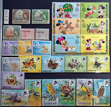 LESOTHO AFRICA AFRIKA OLD & MID STAMPS  LOT 1  – 26 STAMPS NEW MNH**