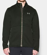 Under Armour UA Men's Storm Softershell Zip Up Jacket  - Large - Green - New