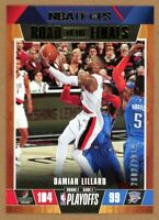 2019-20 Panini Hoops Damian Lillard Road to the Finals #/2019 Trail Blazers SP