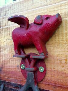 Studio Décor Flying Pig - Bird Wall Coat Hat Scarf Hook Savannah Set Of 2