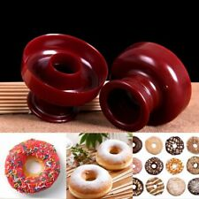 Donut Maker Cutter Fondant Cake Bread Desserts Bakery Mould Mold Baking Tools