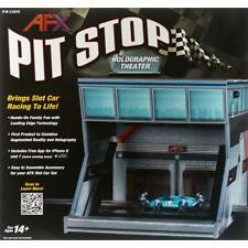 AFX Pit Stop Holographic Theater HO Scale Slot Car 21070