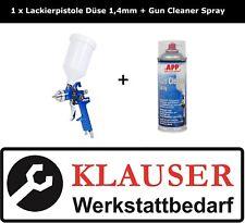 Lackierpistole/Spritzpistole NTools Düse 1,4mm + Gun Cleaner Spray