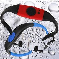 OEM IPX8 WATERPROOF MP3 MUSIC PLAYER SPORT SWIMMING DIVING FM RADIO EARPHONE