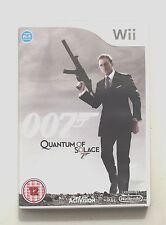 007 QUANTUM OF conforto Wii PAL
