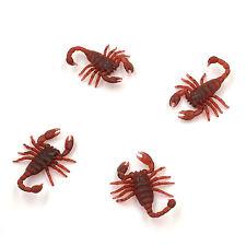 100pcs Vintage Mock Fake Plastic Scorpion Insects Joke Toy Prank Scary Trick a