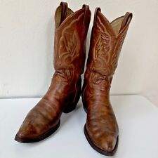 RARE TONY*LAMA BOOTS SIZE 10 ½ D IN EXCELLENT USED CONDITION, NO DAMAGE, US MADE