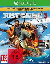 Just Cause 3 Inkl. Just Cause 2 Download + Vehicle Pack & Medici Map - NEU OVP