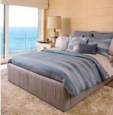 Kelly Wearstler Zuma FULL/QUEEN Duvet Cover 600 TC Shore Blue Retail $375