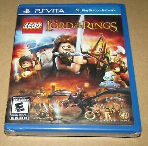 LEGO The Lord of the Rings (Sony Vita) Brand New / Fast Shipping