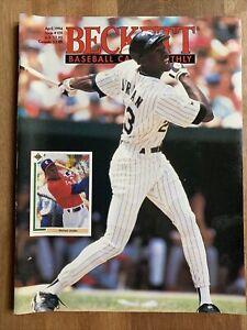 Beckett Baseball Card Monthly Magazine April 1994 Issue #109