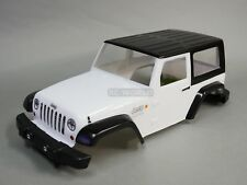 Pro-Line 1/10 JEEP WRANGLER 2 Door Truck Body Shell Painted -WHITE- Finished