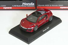 Kyosho 1/64 HONDA NSX Red NC1 ACURA NSX&S660 Minicar Collection 2017
