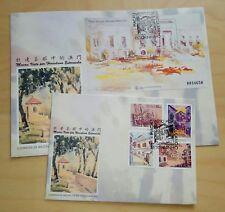 1996 Macau Paintings Herculano Estorninho Stamp + S/S FDC 澳门杜连玉画澳门邮票+小型张首日封