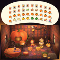 Halloween Kürbis Bastelanleitungen + Materialien | Animal Crossing New Horizons