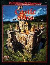 CASTLE SITES 9479 VF! TSR Dungeon Master's Guide AD&D D&D Dungeons Dragons