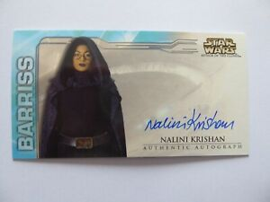 STAR WARS ATTACK OF THE CLONES WIDEVISION AUTO NALINI KRISHAN AS BARRISS OFFEE