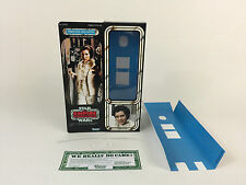 "Custom Vintage Star Wars Esb 12"" Insertos + Caja Princesa Leia Hoth figura moderna"
