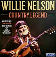 Willie Nelson Album Country Legend Vinyl Remaster UK Stock GIFT IDEA Record