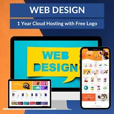 Web Design Wordpress Ecommerce Affiliate Landing Page Dropshipping Store Blog
