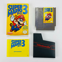 Super Mario Bros. 3 - NES Nintendo CIB Complete In Box 1990 Oval Rev-A *See Note