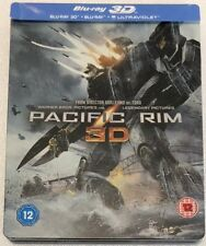 Pacific Rim 3D Steelbook - UK Exclusive Limited Edition Blu-Ray *Region B*