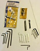 Lot of 20+ Tools: NIP BrassCraft P.O. Plug Wrench 120 BC, Allen & Misc Wrenches