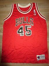 Michael Jordan #45 Chicago Bulls NBA Champion Jersey Youth XL 18-20 children