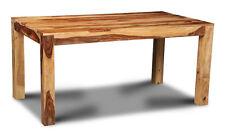 CUBE LIGHT SHEESHAM 160CM DINING TABLE (C18L)